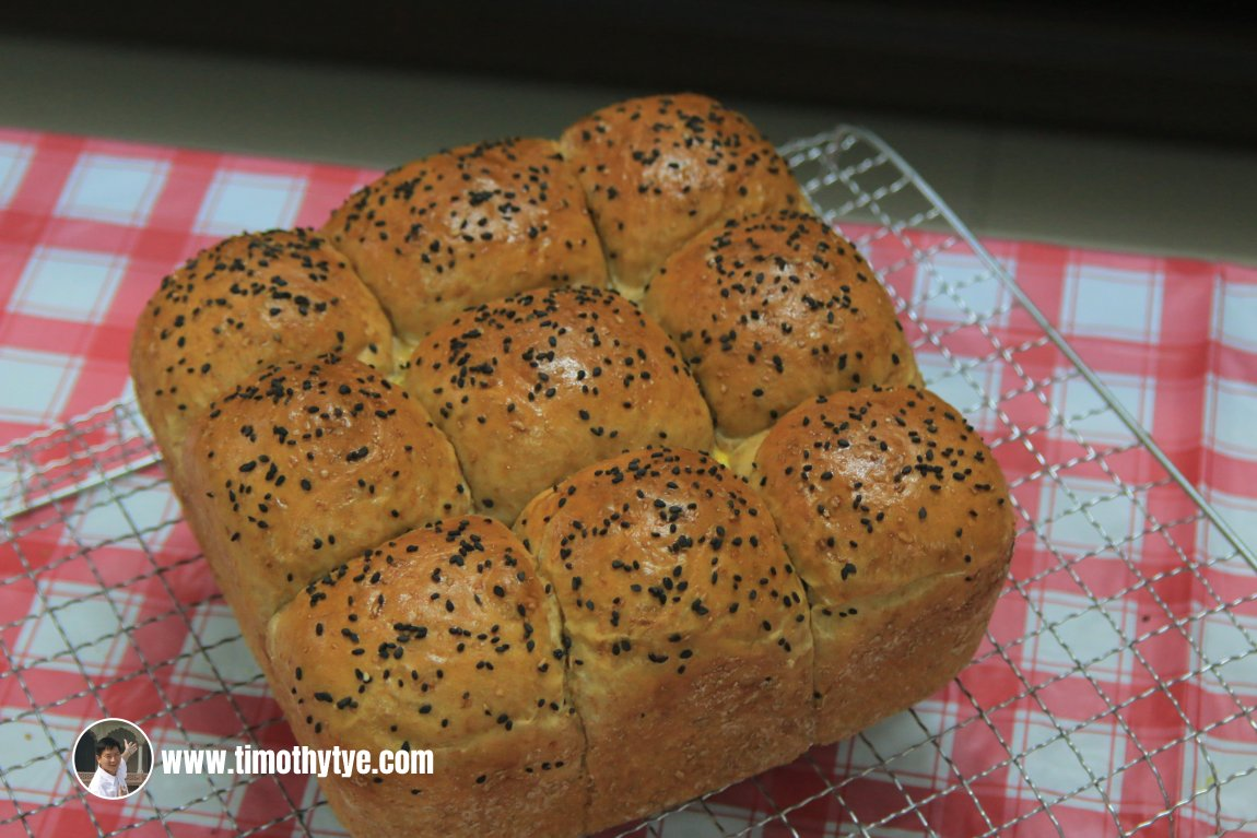 Wholemeal Red Bean Buns