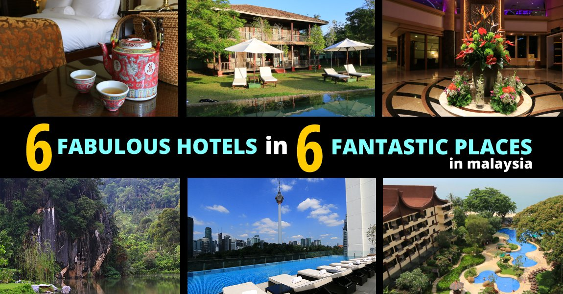 6 Fabulous Hotels in 6 Fantastic Places