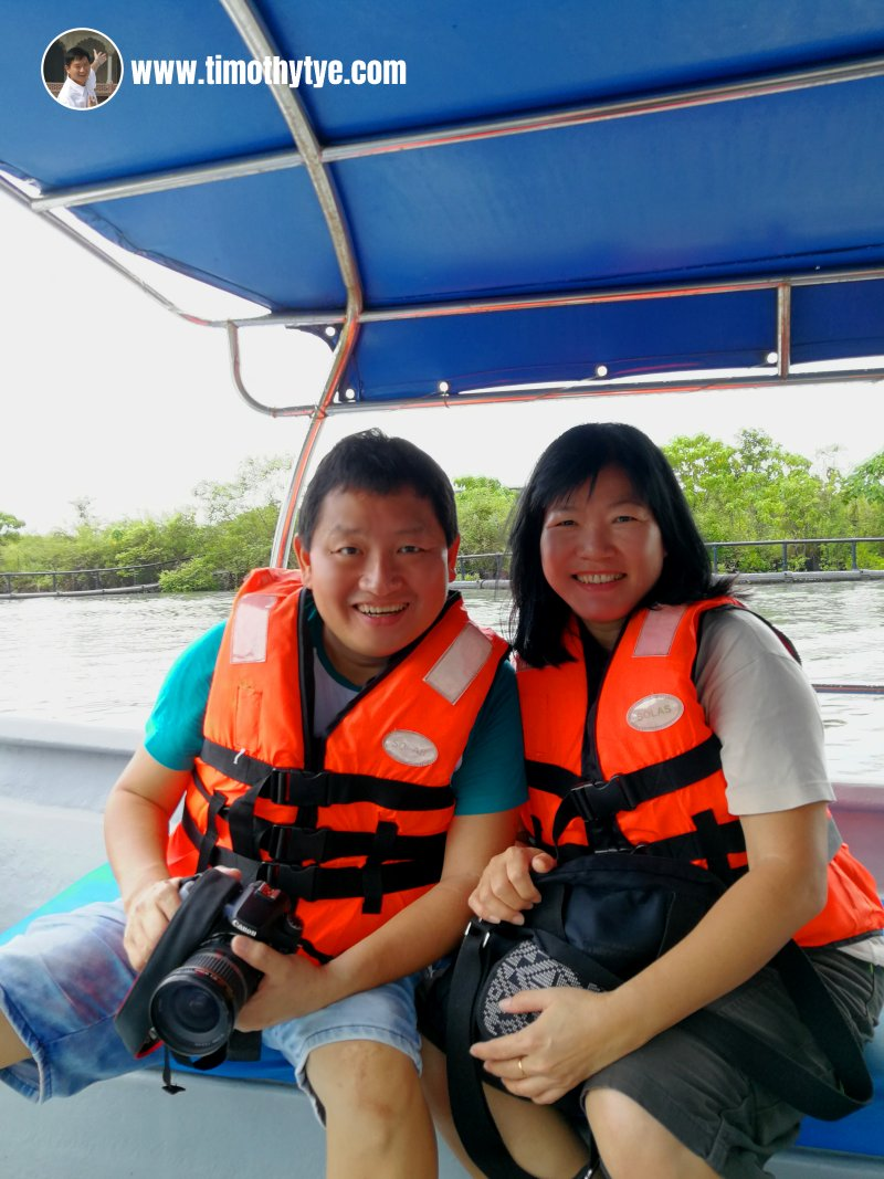 Enjoying the Mangrove Boat trip with Dev's Adventure Tours