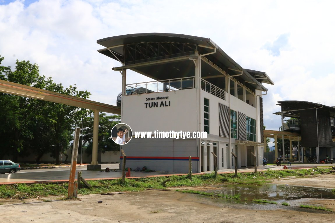 Tun Ali Monorail Station