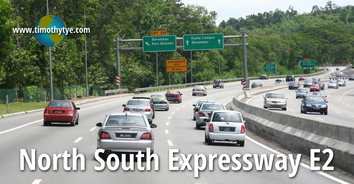 North South Expressway Southern Route E2