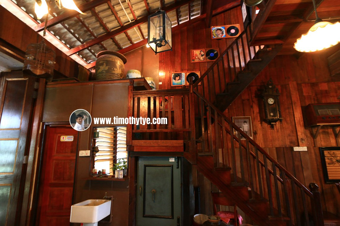 Staircase inside Heritage House