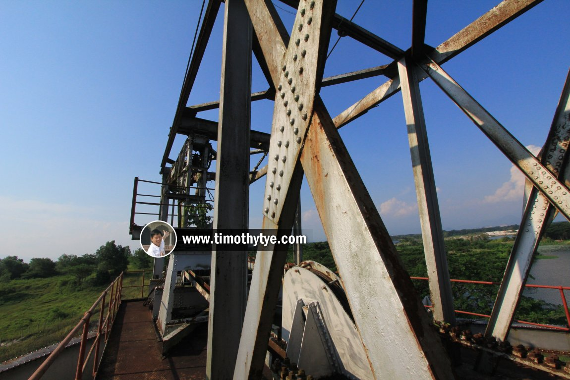 View from the rooftop of the Tanjung Tualang Tin Dredge