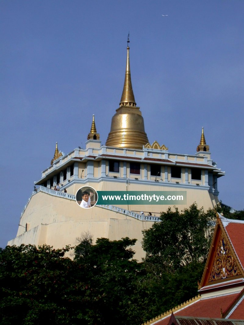 Phu Chao Thong (The Golden Mount), Bangkok, Thailand