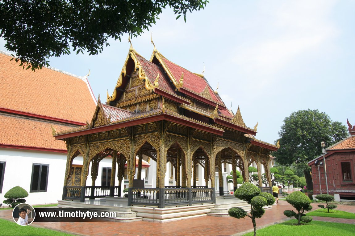 Pavilion at National Museum, Bangkok