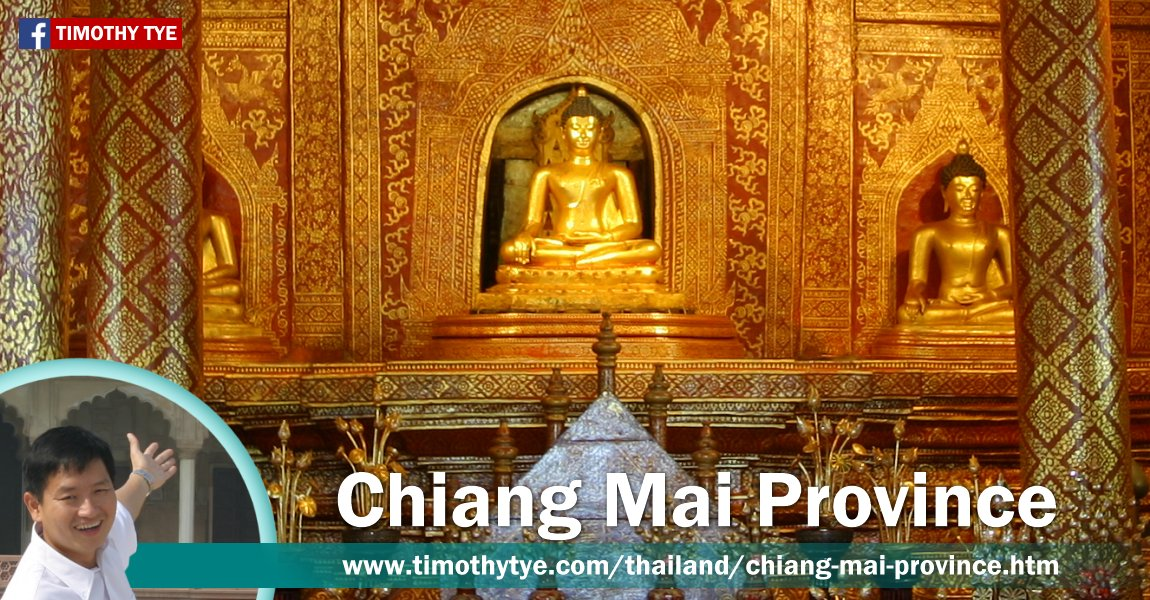 Discover Chiang Mai Province, Thailand, with Timothy Tye