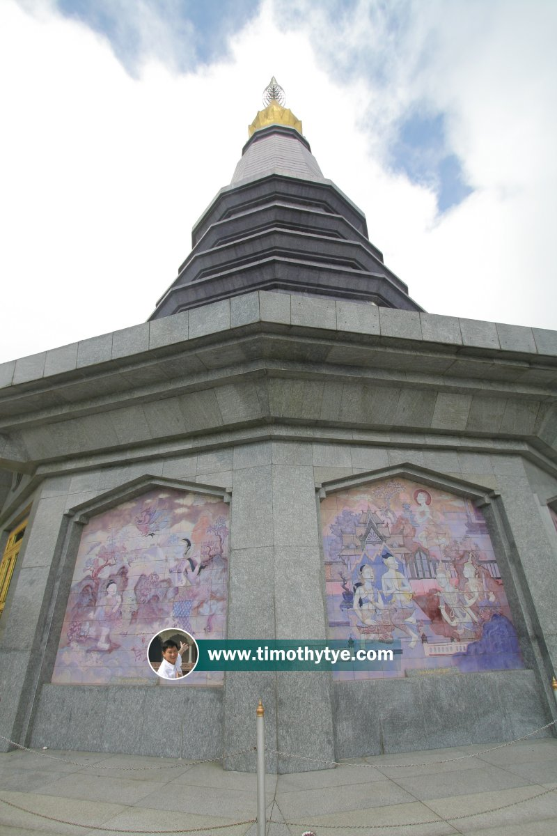Naphapholphumisiri Chedi (The Great Holy Relics Stupa), Doi Inthanon, Thailand