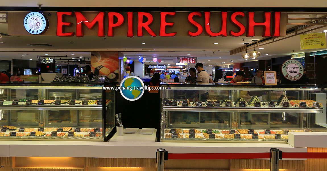 Empire Sushi outlet at Gurney Plaza, Penang