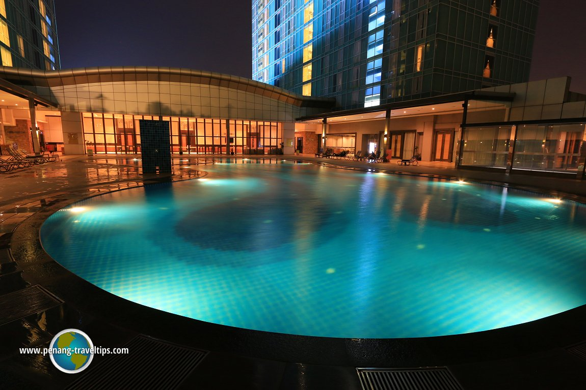 Another view of the swimming pool at KSL Resort