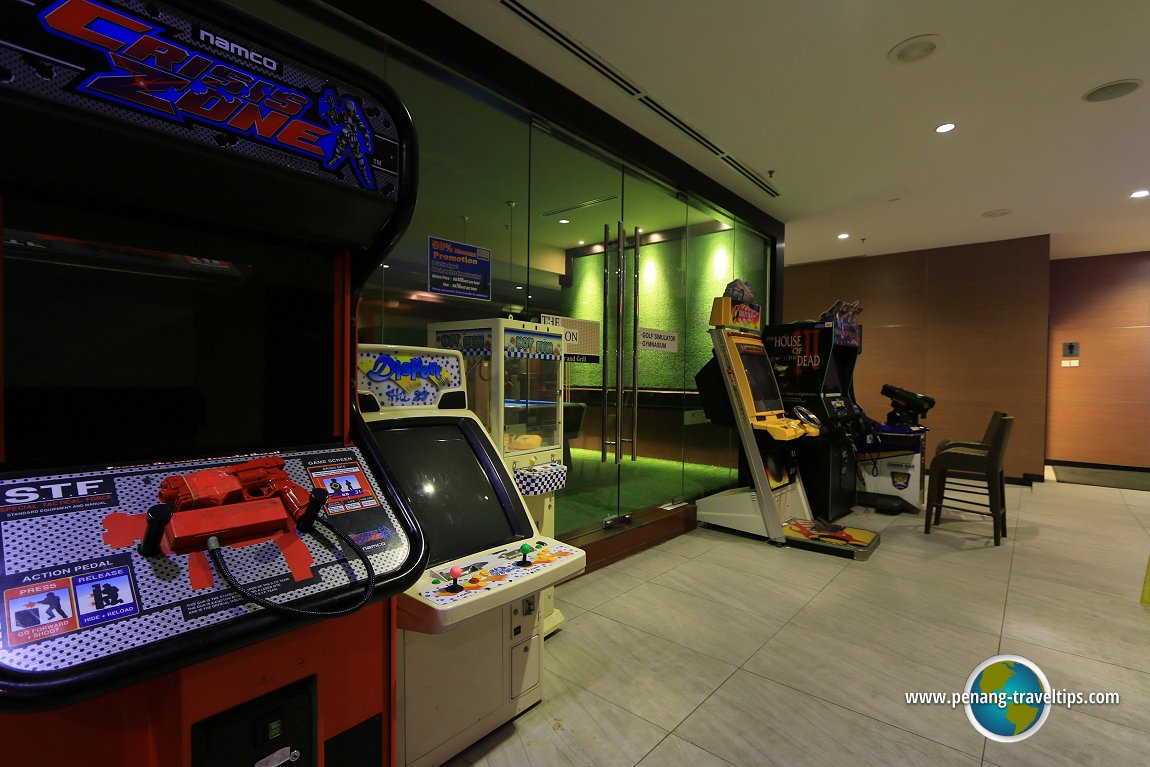 Hotel guest amusement arcade at KSL Resort