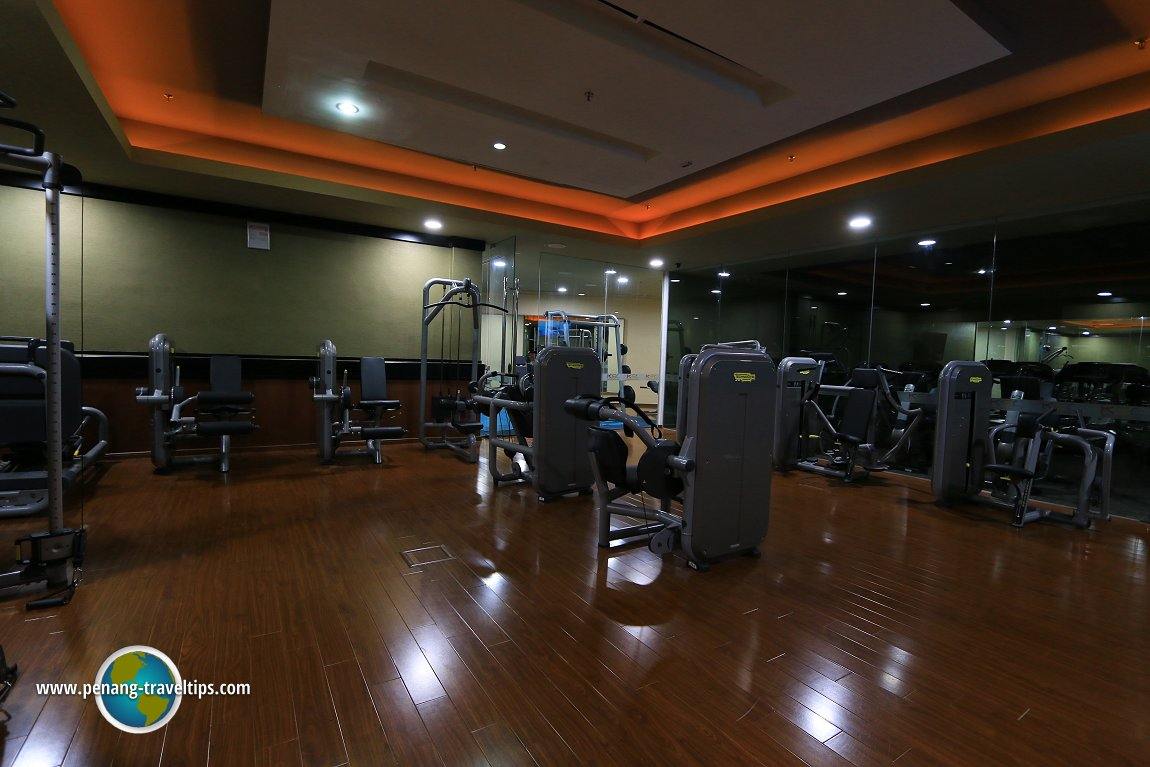 Gymnasium at KSL Resort