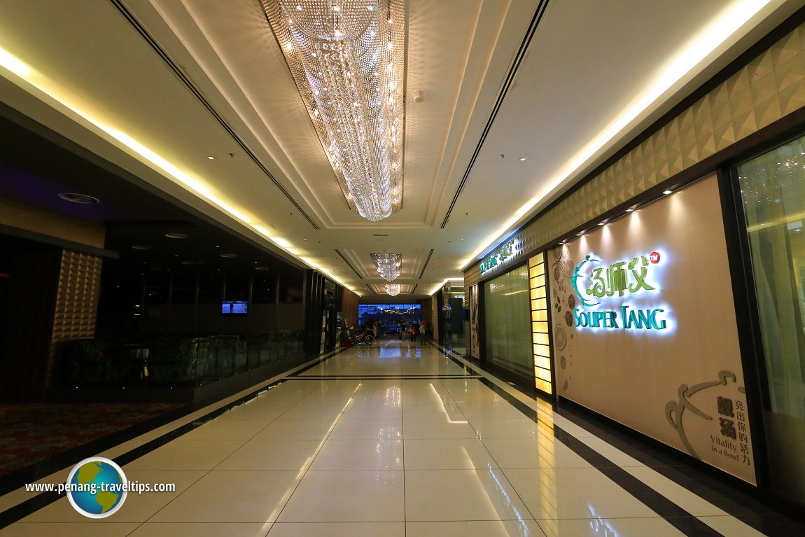 Interior of KSL City Mall