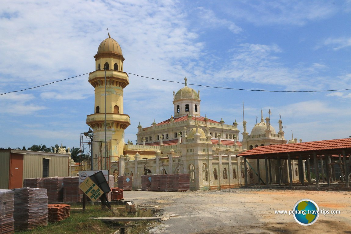 Sultan Alaeddin Mosque in Jugra