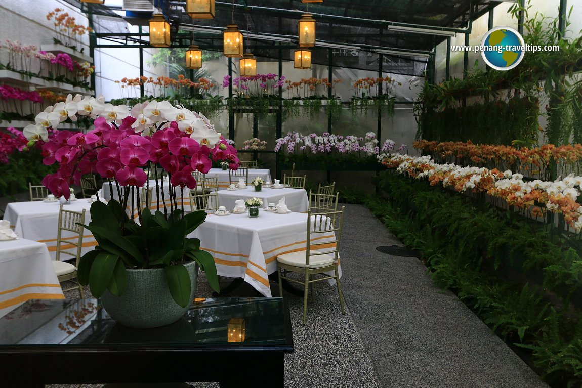 The Orchid Conservatory at The Majestic Hotel Kuala Lumpur
