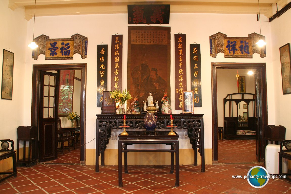 tun tan cheng lock 39 s ancestral home. Black Bedroom Furniture Sets. Home Design Ideas